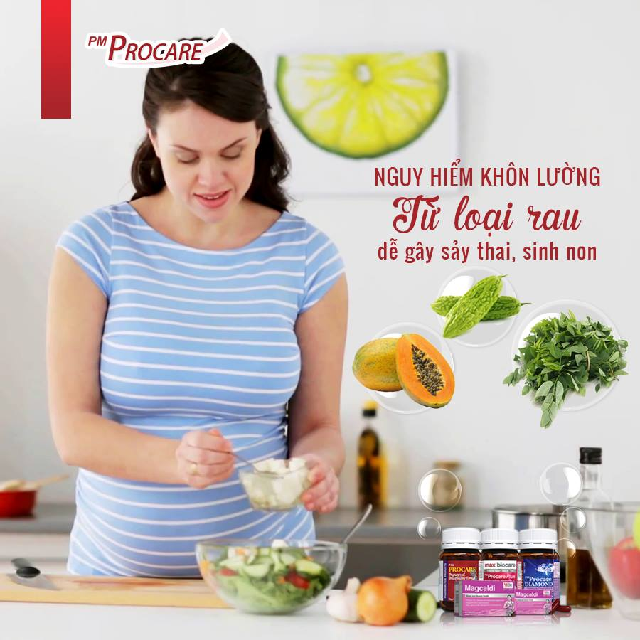 10 loại rau mẹ bầu không nên ăn 1