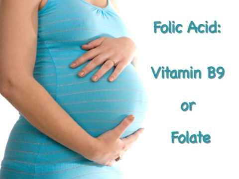 Tầm quan trọng của bổ sung acid folic cho bà bầu 1