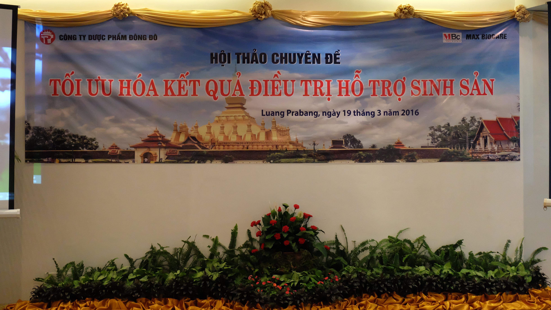 Hội thảo Procare tại Lào