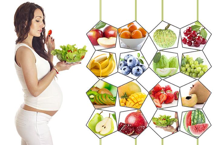 Chế độ dinh dưỡng cho bà bầu trong 9 tháng thai kỳ 1