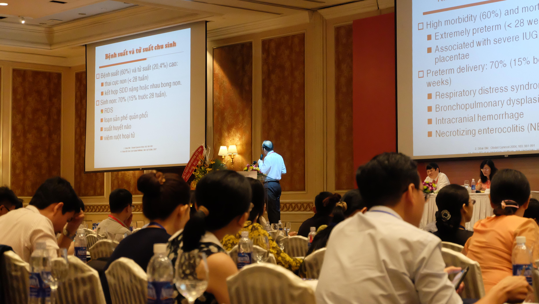Hội nghị khoa học về Thai kỳ nguy cơ cao và chẩn đoán trước sinh 2016 3