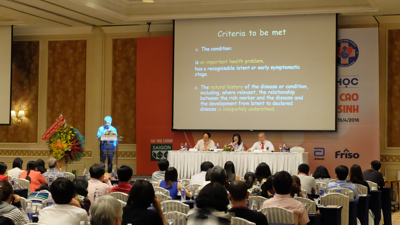 Hội nghị khoa học về Thai kỳ nguy cơ cao và chẩn đoán trước sinh 2016 4
