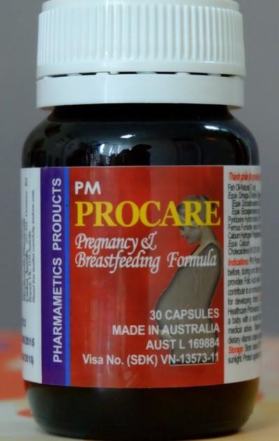 Cách phân biệt thuốc Procare chính hãng sản xuất tại Australia 1