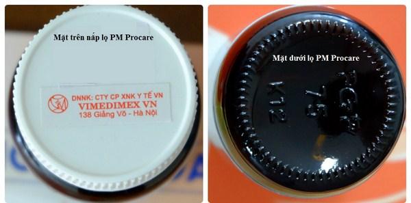 Cách phân biệt thuốc Procare chính hãng sản xuất tại Australia 7
