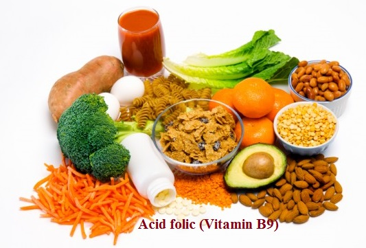 1.Acid folic (Vitamin B9) 1