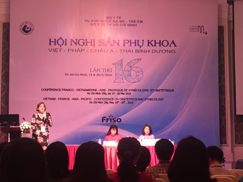 Hội nghị Sản phụ khoa Việt Pháp - Châu Á Thái Bình Dương lần thứ 16 - 2016 1
