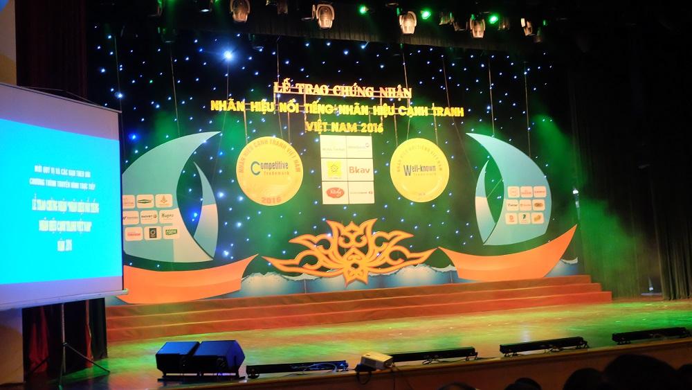 Thuốc Procare nhận giải thưởng Nhãn hiệu cạnh tranh năm 2016 1