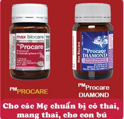 Chi tiết các thành phần PM Procare Diamond