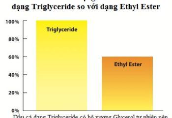So sanh sinh kha dung dang Triglyceride va Ethyl ester