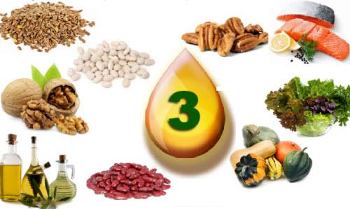 Thực phẩm giàu axit béo Omega-3 1