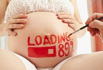 Các dấu hiệu trước khi sinh