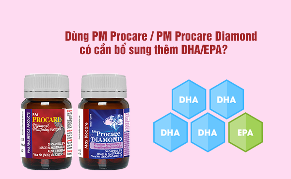 Uống Procare rồi có cần dùng thêm DHA không? 1