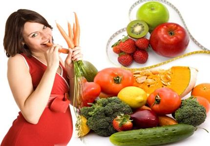 Vợ mang thai nên ăn gì 1
