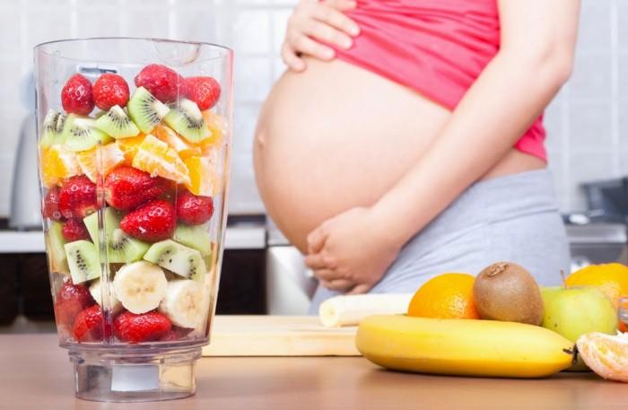 Bật mí cáchăn uống khi mang thai vào con không vào mẹ. 1