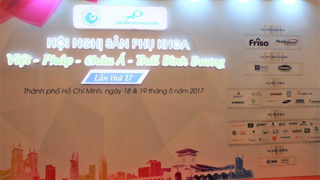 Hội nghị sản phụ khoa Việt – Pháp – Châu Á – Thái Bình Dương lần thứ 17 tại TP. Hồ Chí Minh 1