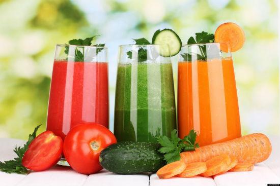 6.Các loại nước ép trái cây, rau củ quả 1