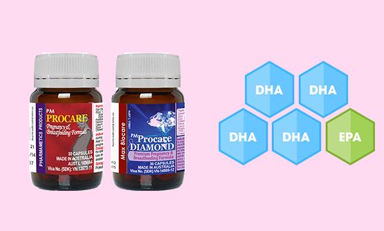 6. Tăng chất lượng sữa mẹ bằng PM Procare/PM Procare Diamond 1