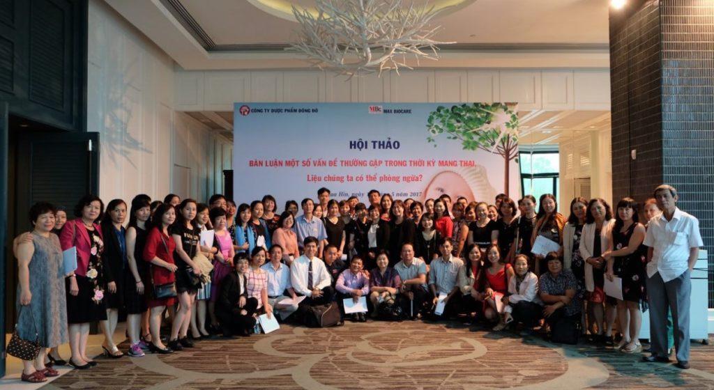 """Hội thảo chuyên đề """"Bàn luận một số vấn đề thường gặp trong thời kỳ mang thai, liệu chúng ta có thể phòng ngừa?"""" tại Hua Hin – Thái Lan 1"""