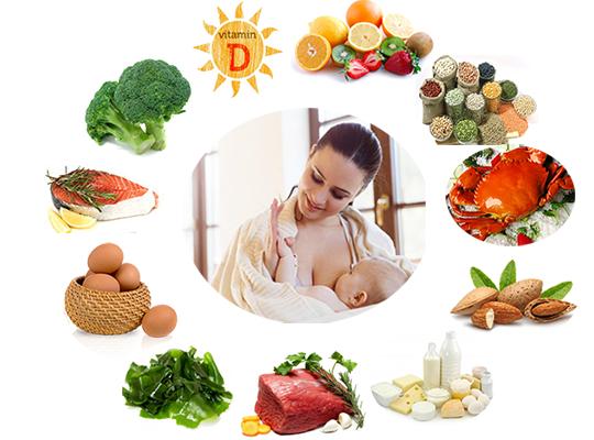 Những dưỡng chất quan trọng mẹ cần cung cấp khi cho con bú 1