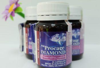 Cách nhận biết thuốc PM Procare diamond chính hãng sản xuất tại Australia
