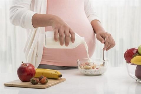 Mang thai tháng thứ 5 - Chế độ dinh dưỡng vô cùng quan trọng 1