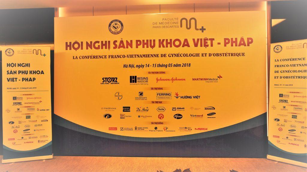 Hội nghị Sản phụ khoa Việt – Pháp 2018 2