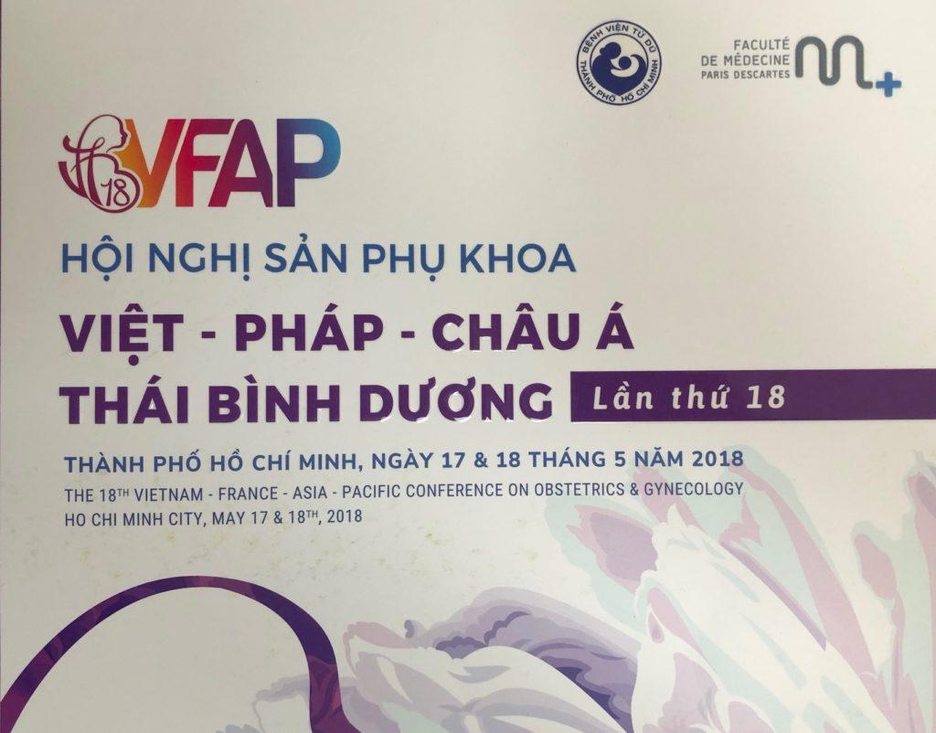 Hội nghị sản phụ khoa Việt – Pháp – Châu Á – Thái Bình Dương lần thứ 18 tại TP. Hồ Chí Minh 1