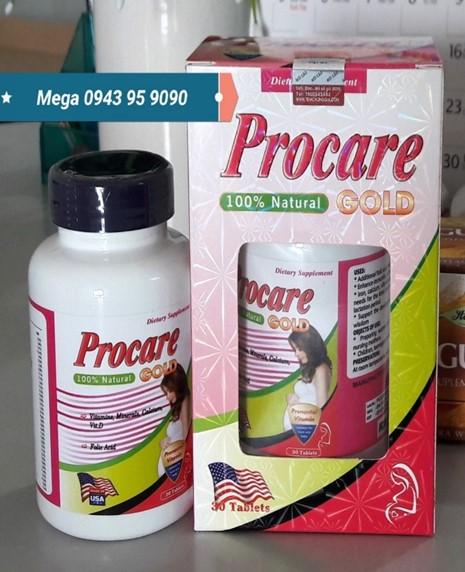 Procare Gold có giống thuốc PM Procare của Úc không ? 1