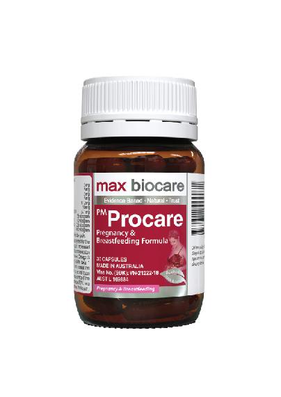 2, Thành phần thuốc bổ PM Procare/PM Procare diamond 3