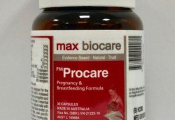 Cách nhận biết thuốc PM Procare (mẫu mới) sản xuất chính hãng tại Australia