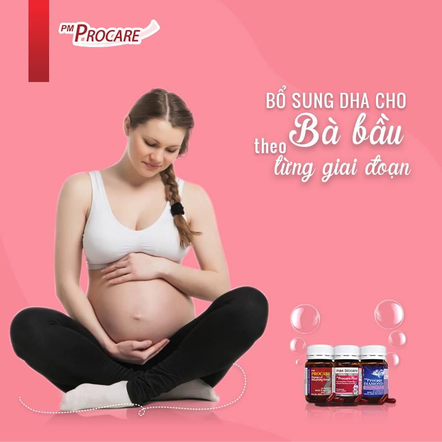 [MỚI 2021] Hướng dẫn bổ sung DHA cho bà bầu trong suốt thai kỳ 1