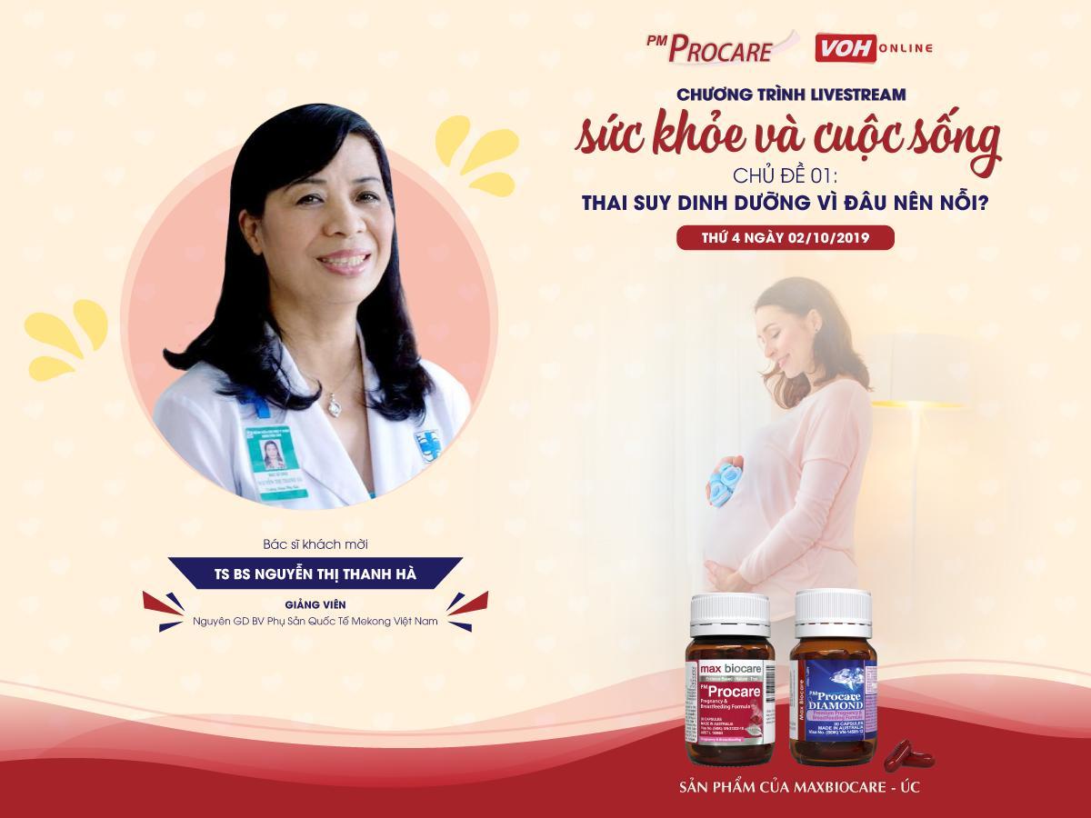 [TRỰC TIẾP] - Radio VOH - Thai suy dinh dưỡng: vì đâu nên nỗi? 2
