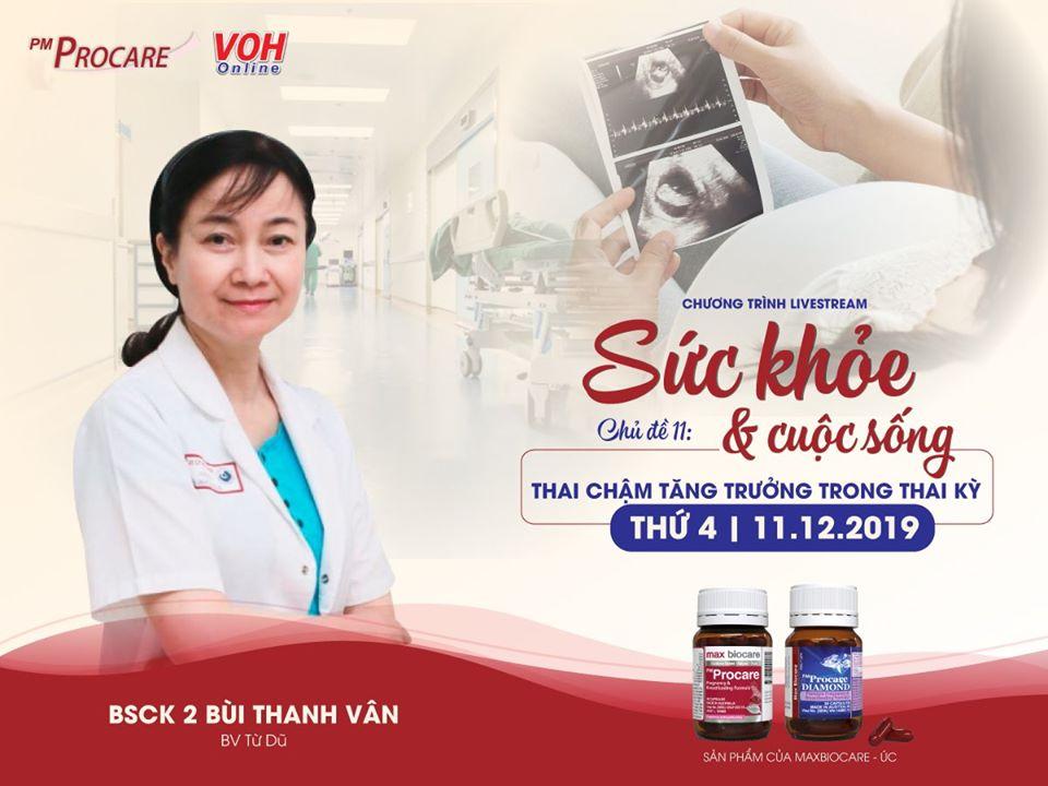 [TRỰC TIẾP] – Radio VOH – Thai chậm tăng trưởng trong thai kỳ 2