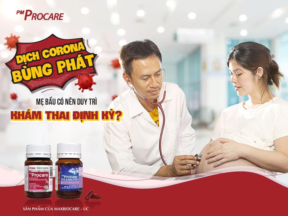 Có nên khám thai định kì trong mùa Corona? 1