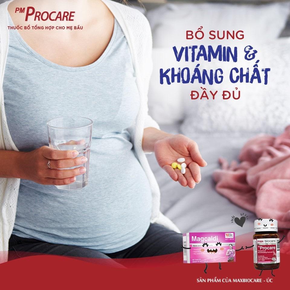 Bổ sung vitamin & khoáng chất đầy đủ 1