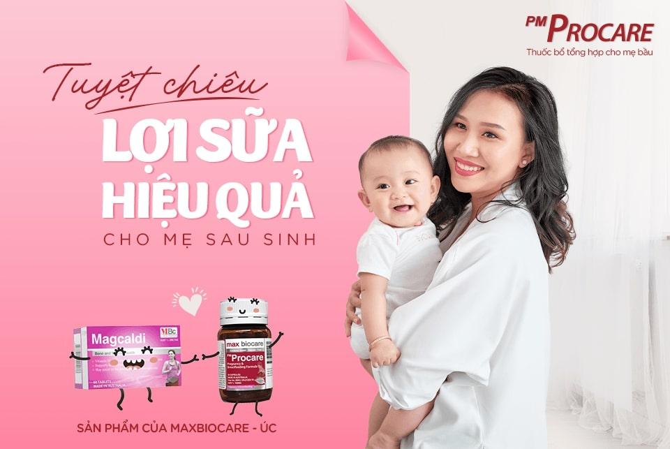 Tuyệt chiêu lợi sữa hiệu quả cho mẹ sau sinh 1