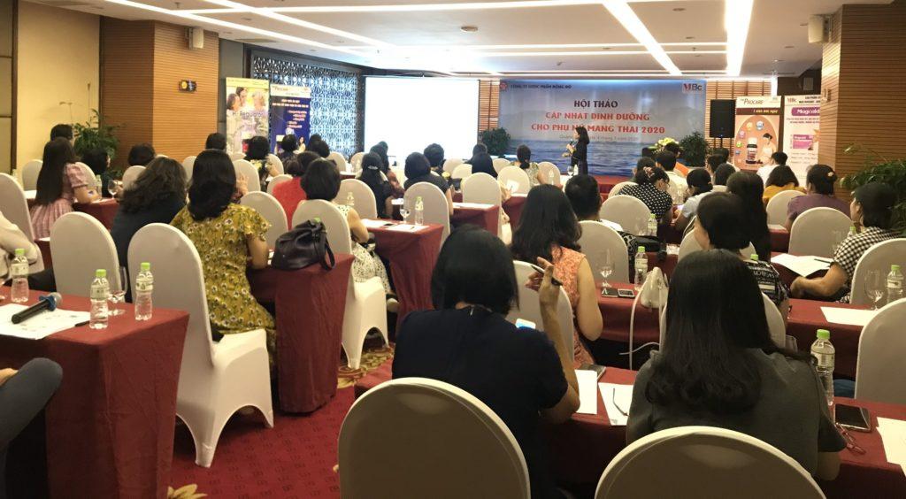 Hội thảo Cập nhật dinh dưỡng cho phụ nữ mang thai 2020 3
