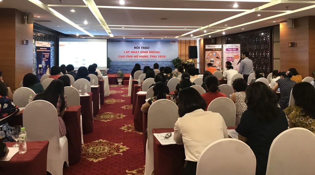 Hội thảo Cập nhật dinh dưỡng cho phụ nữ mang thai 2020 2