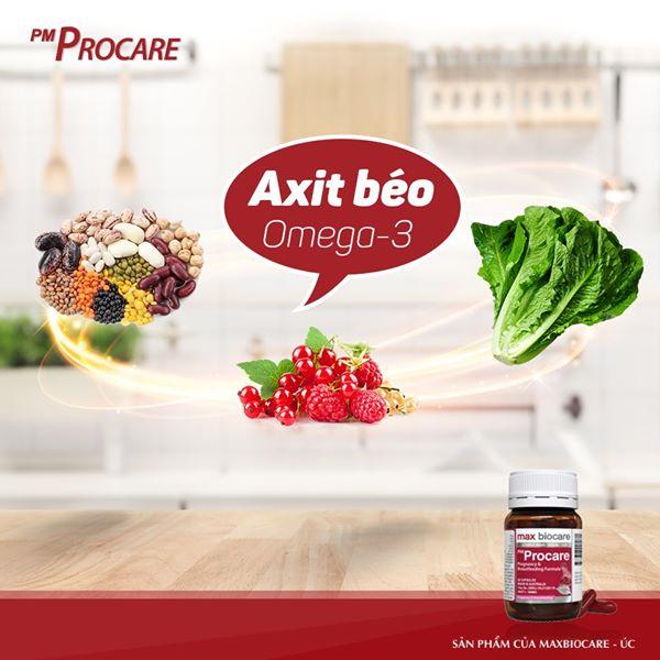 Thực phẩm giàu Axit béo Omega 3 1