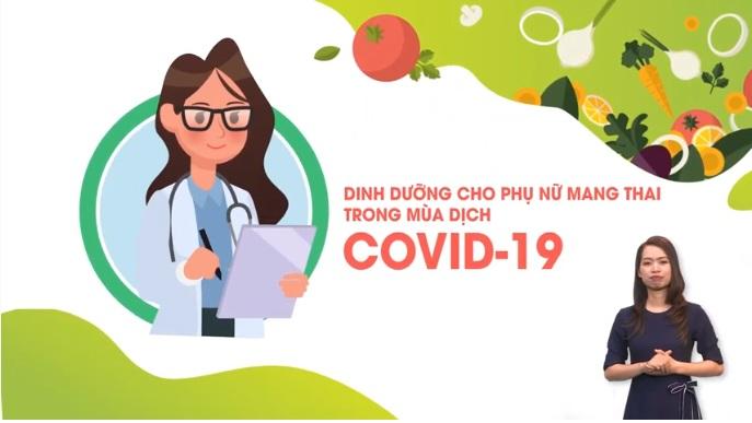 Bộ Y tế khuyến cáo về dinh dưỡng cho phụ nữ mang thai trong dịch COVID-19 1