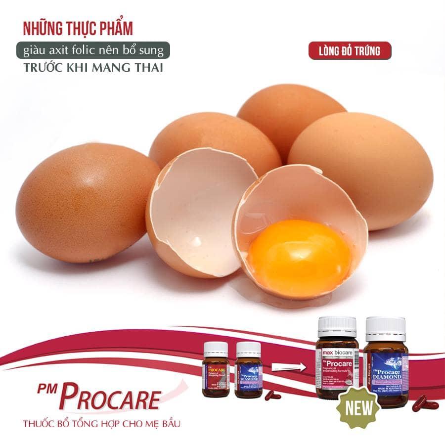 Lòng đỏ trứng 1