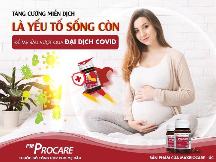 Tăng cường miễn dịch là yếu tố sống còn giúp mẹ bầu vượt qua đại dịch covid 1