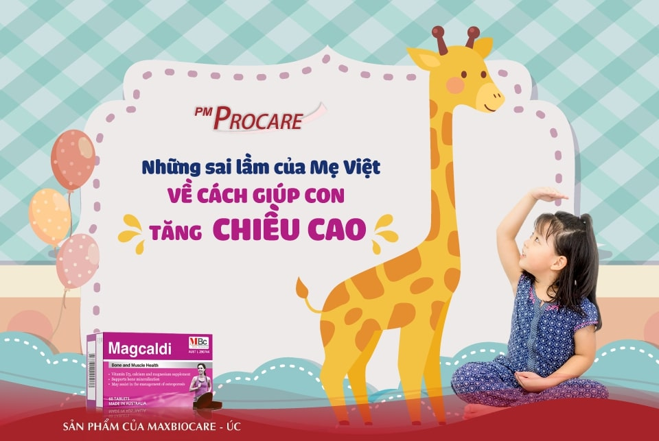 Những sai lầm của mẹ Việt về cách giúp con tăng chiều cao 1