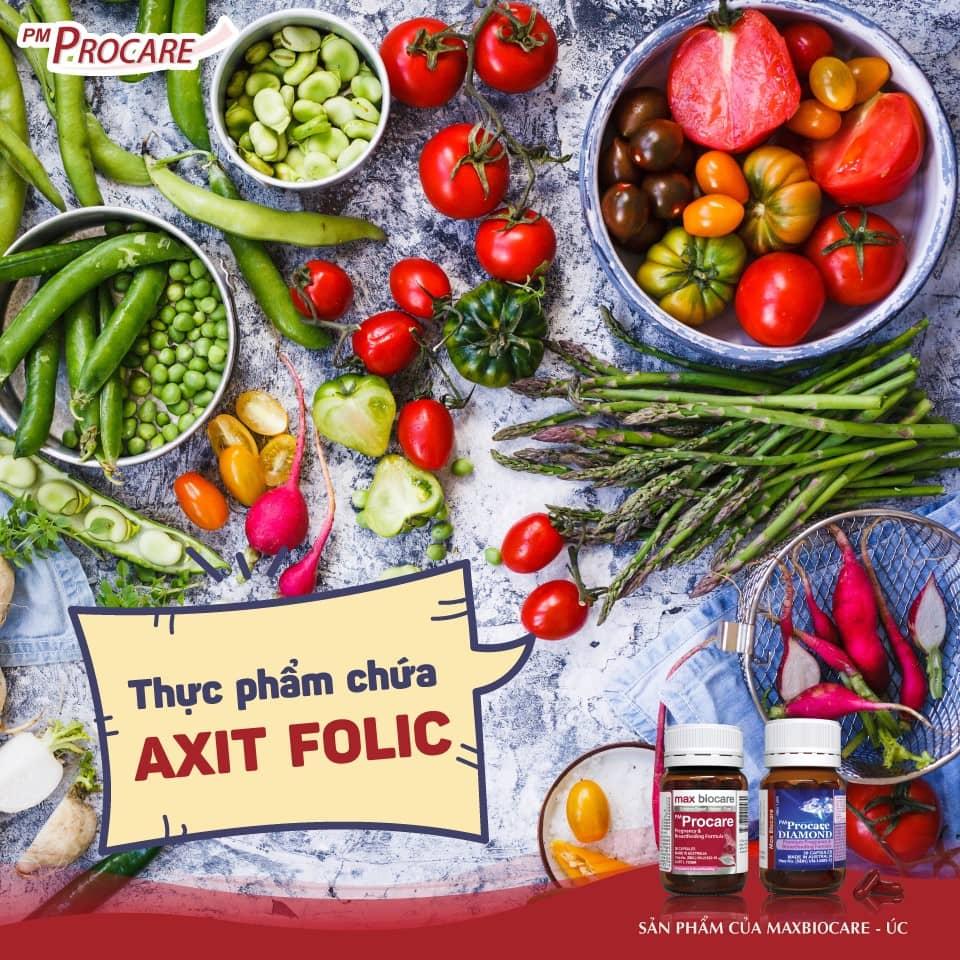 Thực phẩm chứa axit folic 1