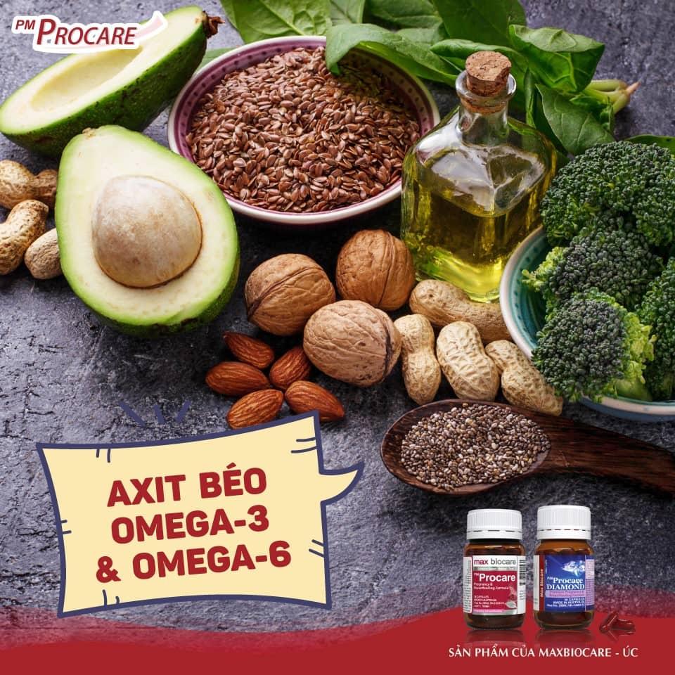 Axit béo omega-3 và omega-6 1