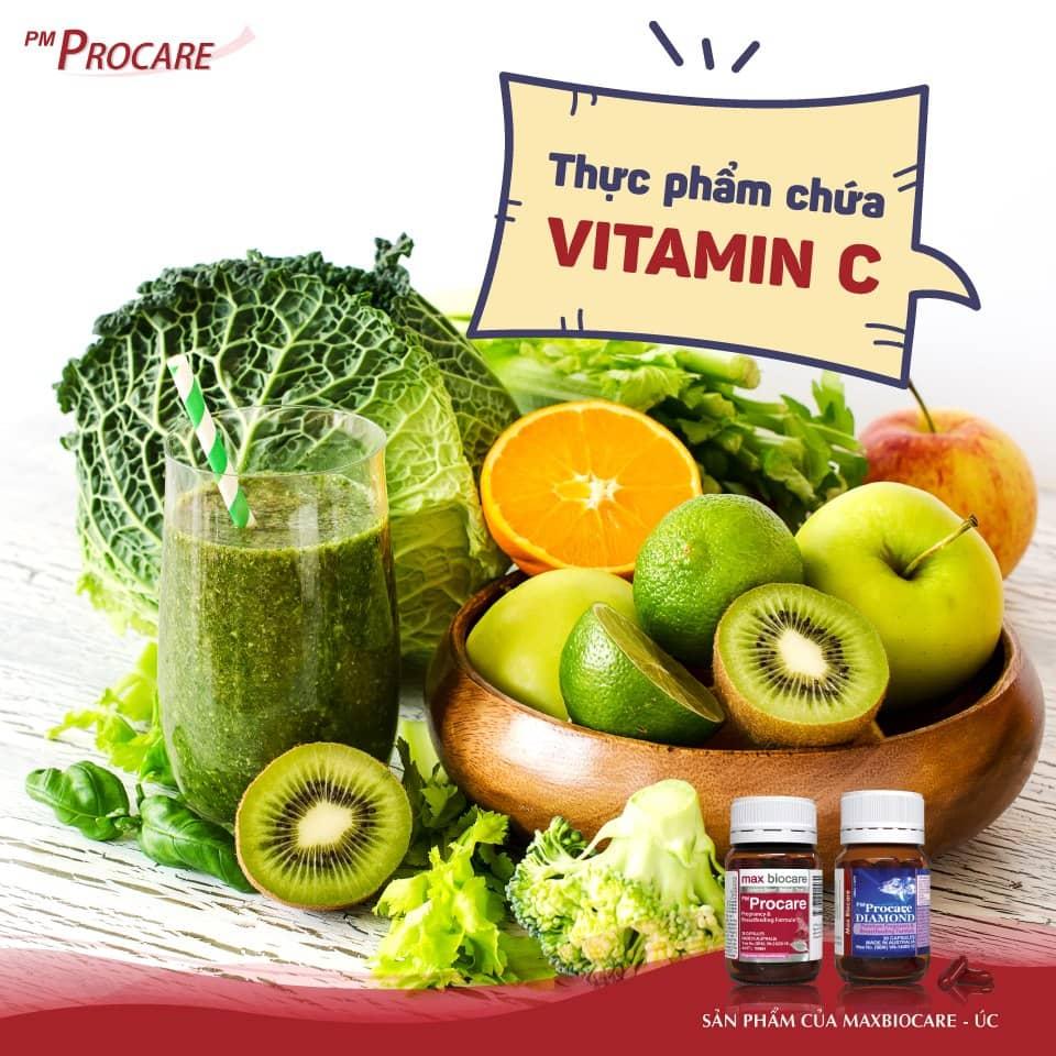 Thực phẩm chứa vitamin C 1