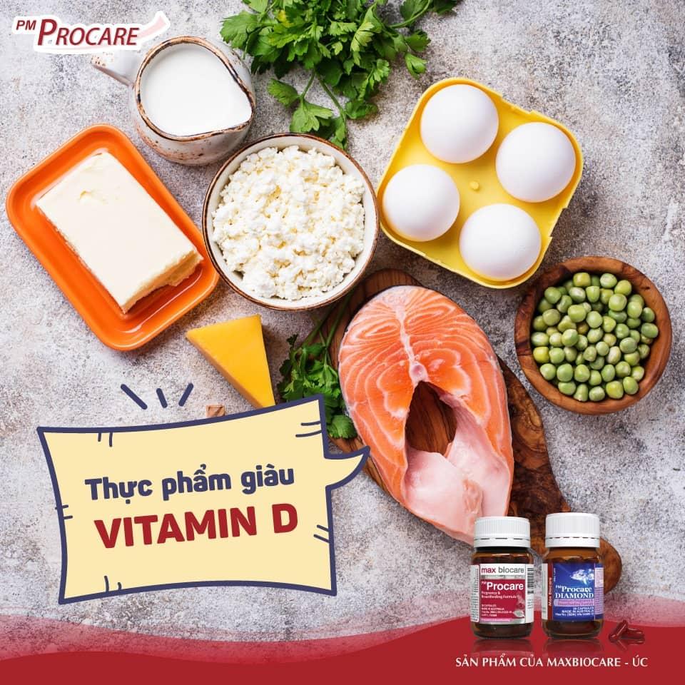 Thực phẩm giàu vitamin D 1