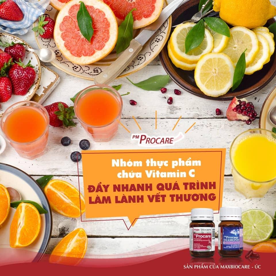 Nhóm thực phẩm chứa Vitamin C – Đẩy nhanh quá trình làm lành vết thương 1