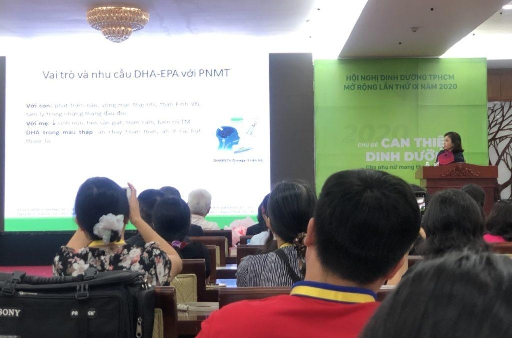 """Hội nghị dinh dưỡng TPHCM mở rộng lần IX năm 2020 với chủ đề """"Can thiệp dinh dưỡng cho phụ nữ có thai và trẻ em"""" 2"""