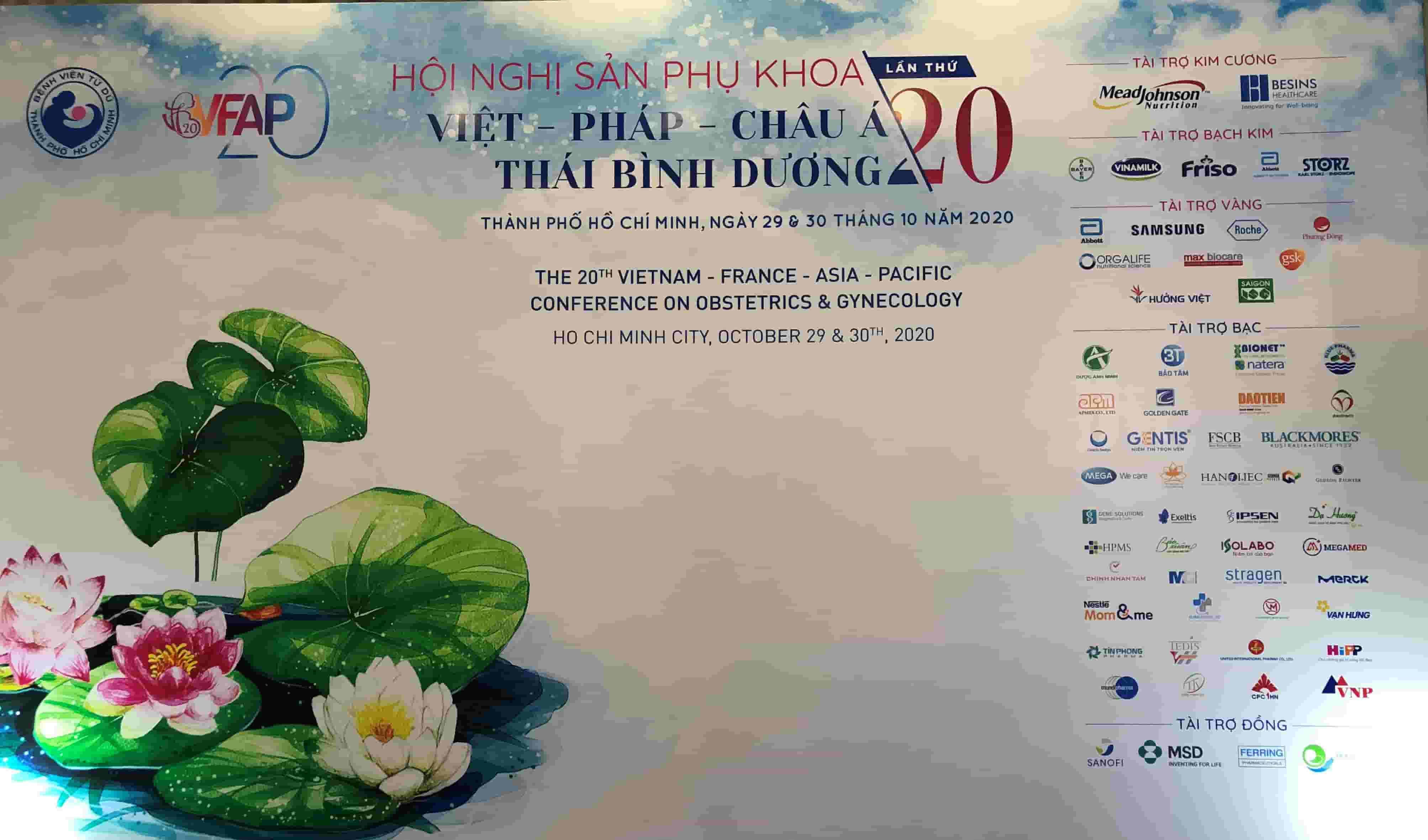 Hội nghị Sản Phụ khoa Việt - Pháp - Châu Á Thái Bình Dương lần thứ 20 1